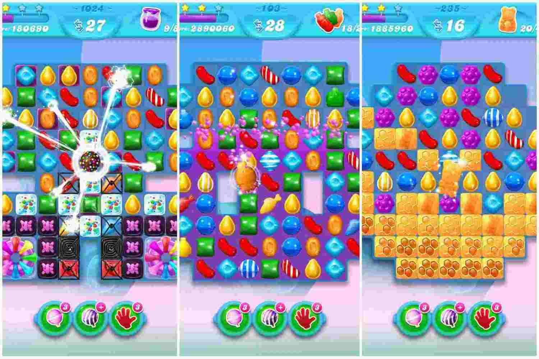 game Candy Crush Soda Saga mod hack