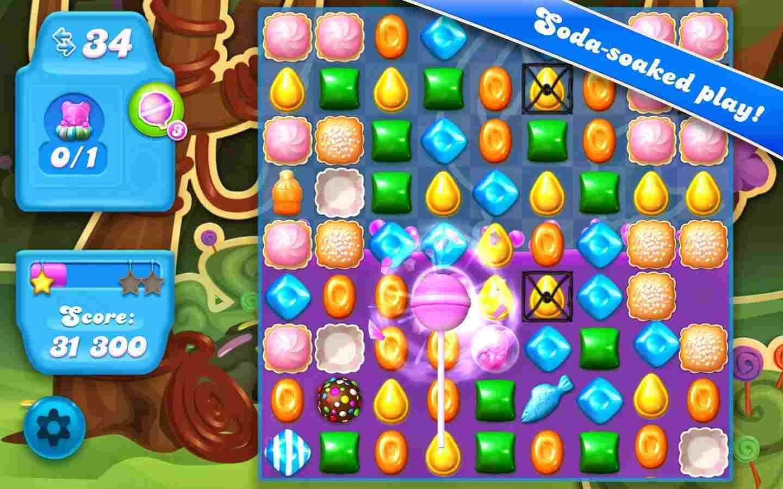 game Candy Crush Soda Saga mod