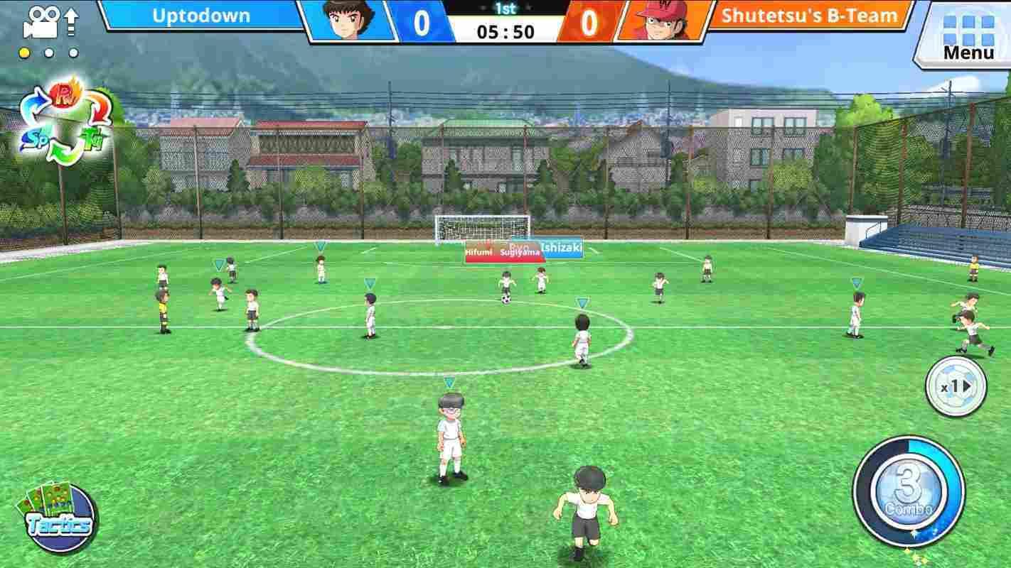 game Captain Tsubasa ZERO mod hack