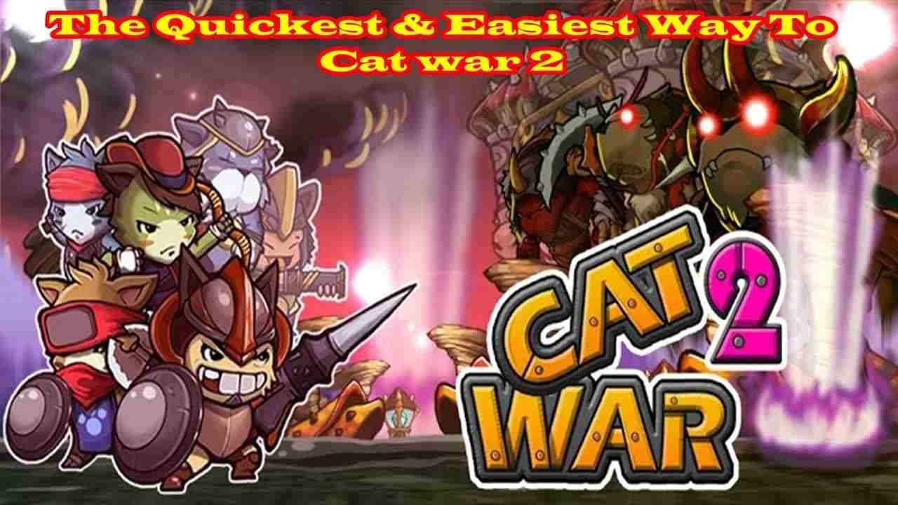 game Cat War2 mod hack