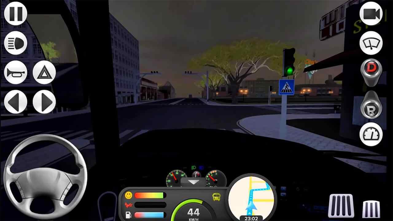 game Coach Bus Simulator mod hack