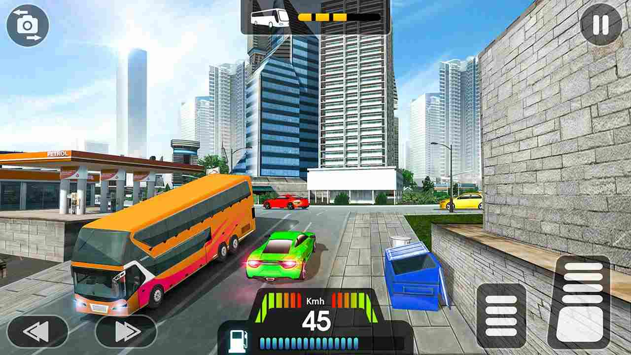 game Coach Bus Simulator mod hack.