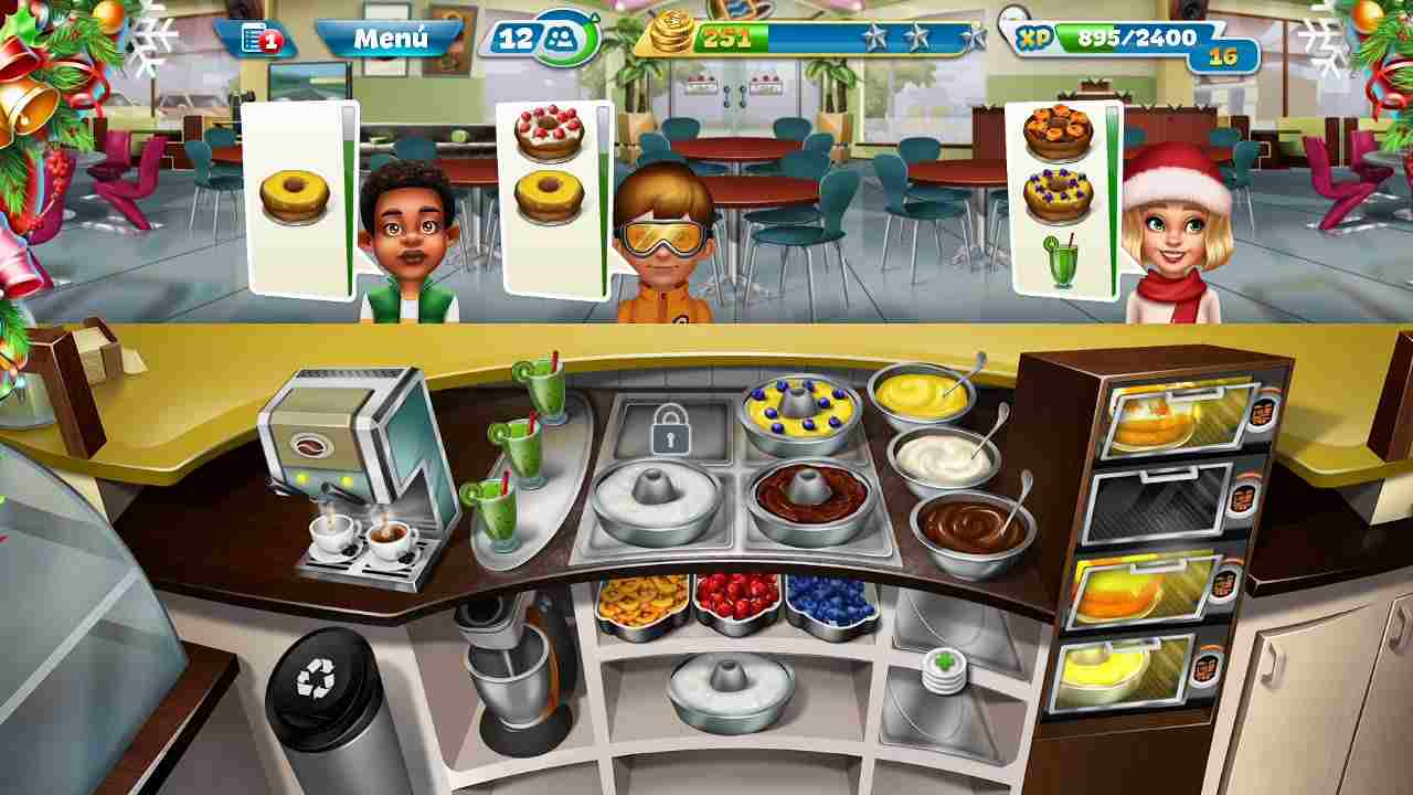 game Cooking Fever mod