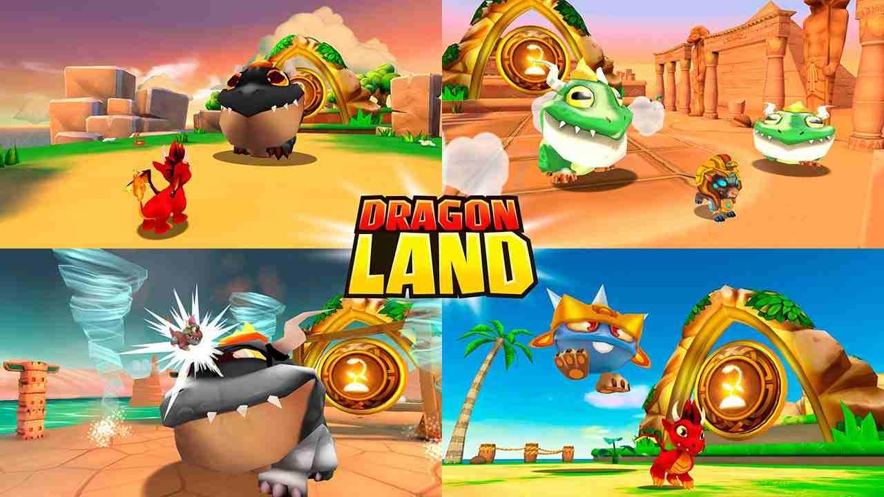 game Dragon Land mod hack