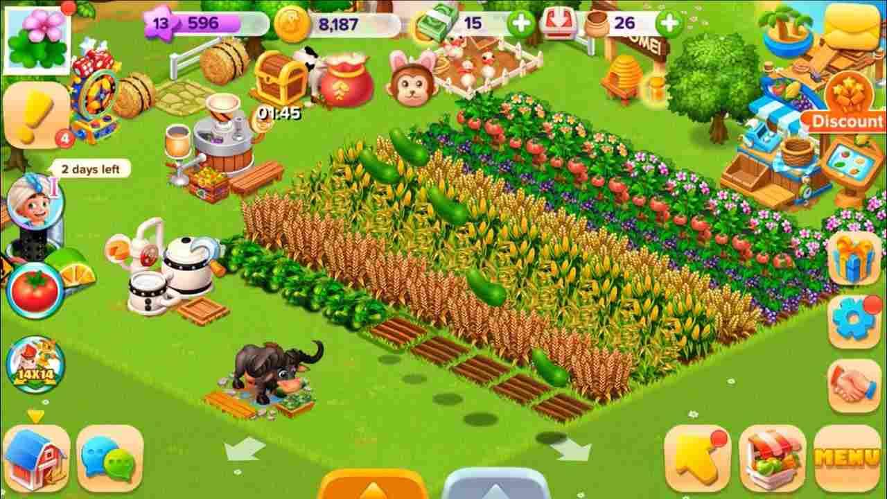 game Family Farm Seaside mod hack