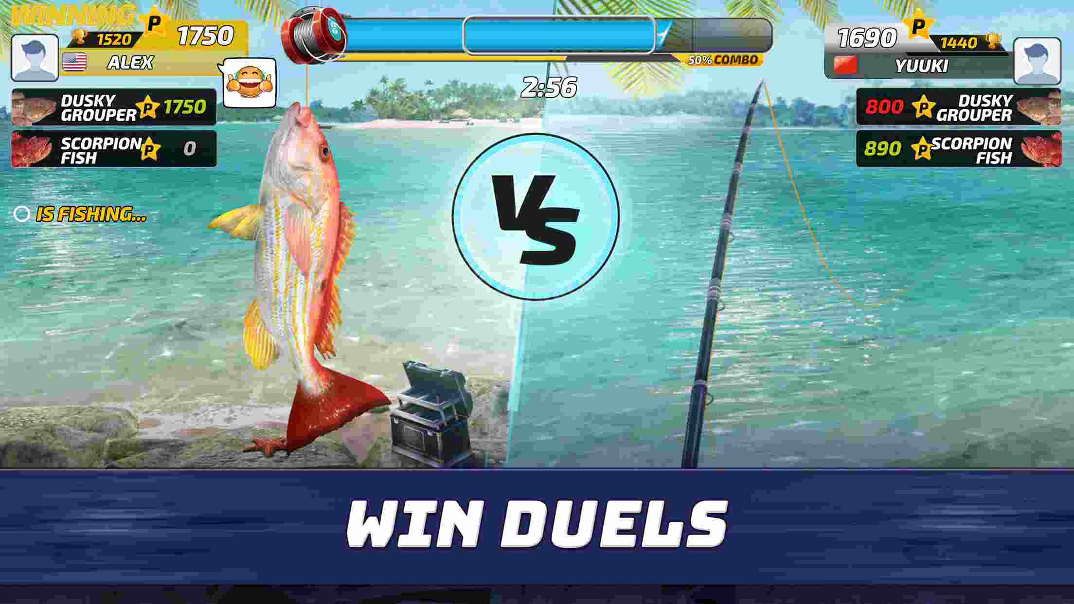 game Fishing Clash mod hack