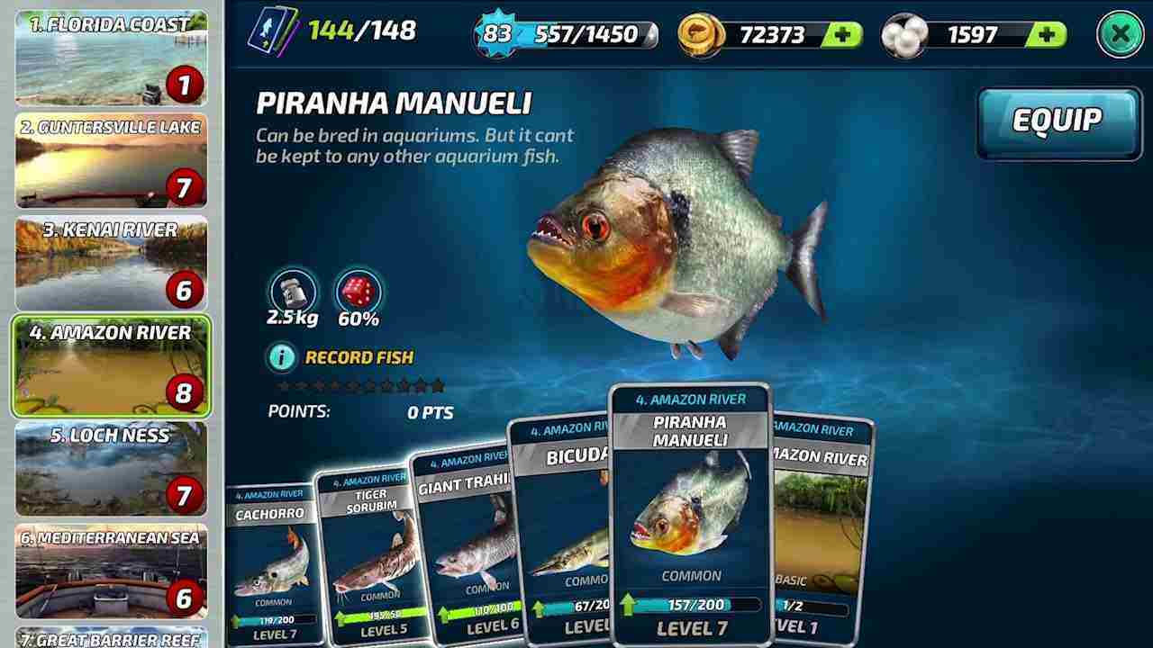 game Fishing Clash mod