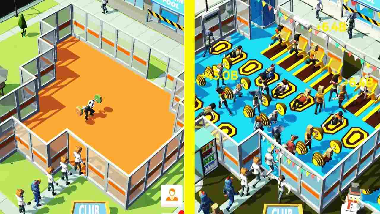 game Fitness Gym Tycoon mod