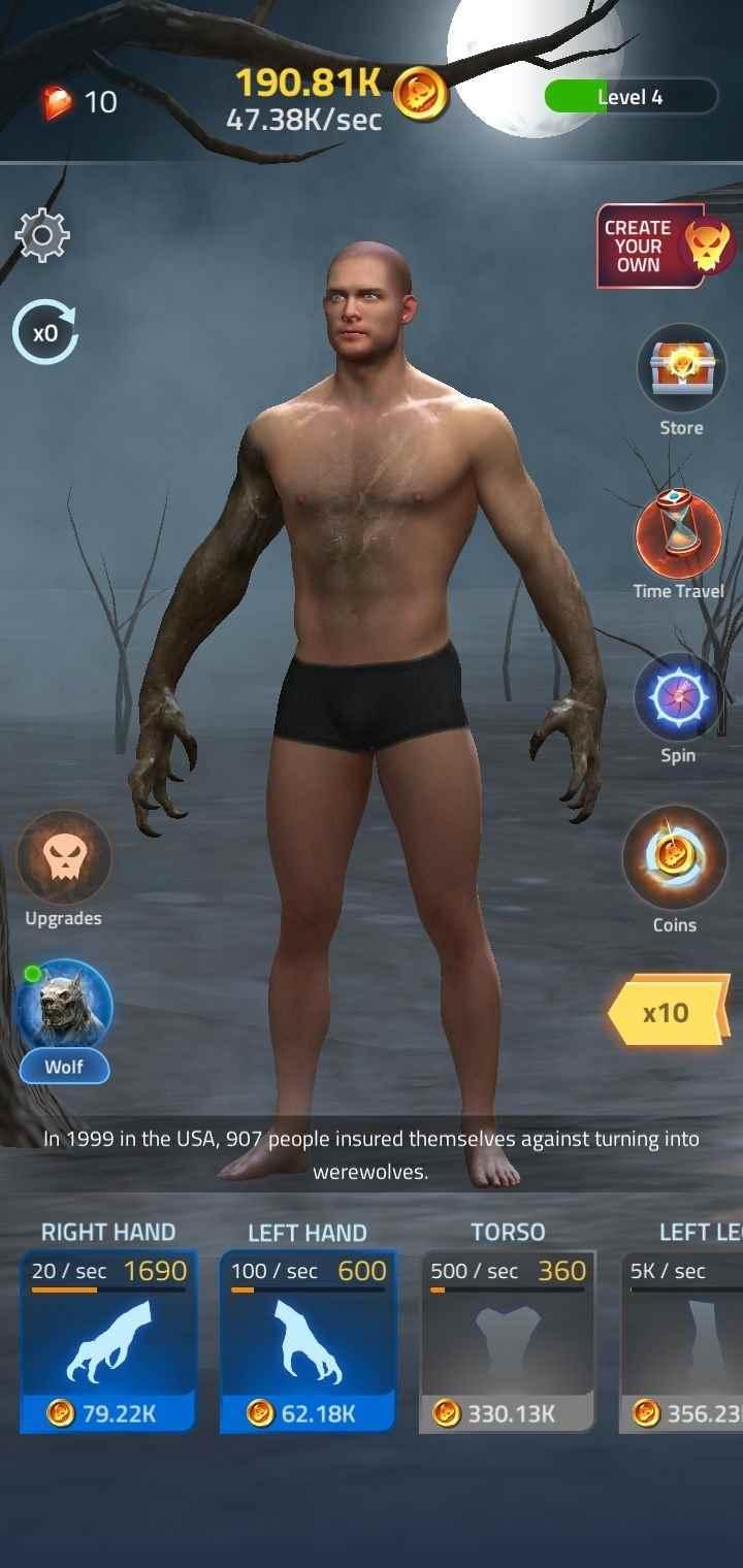 game Idle Transformation mod