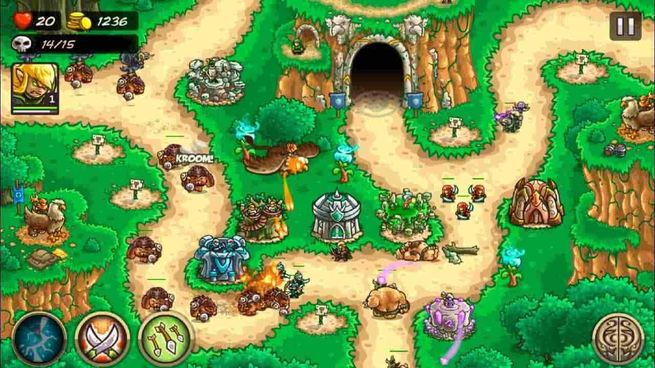 game Kingdom Rush Origins mod hack