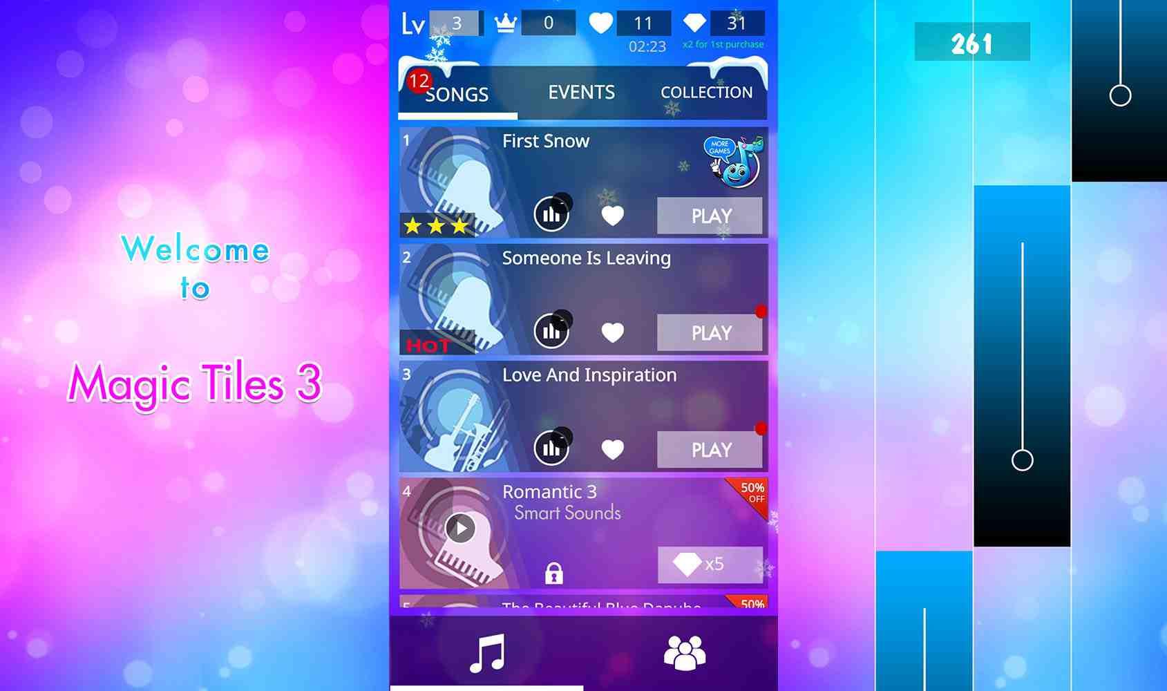 game Magic Tiles 3 mod