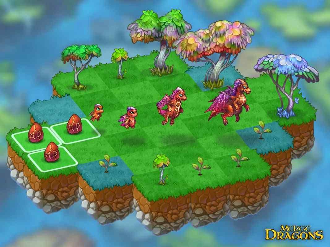 game Merge Dragons mod