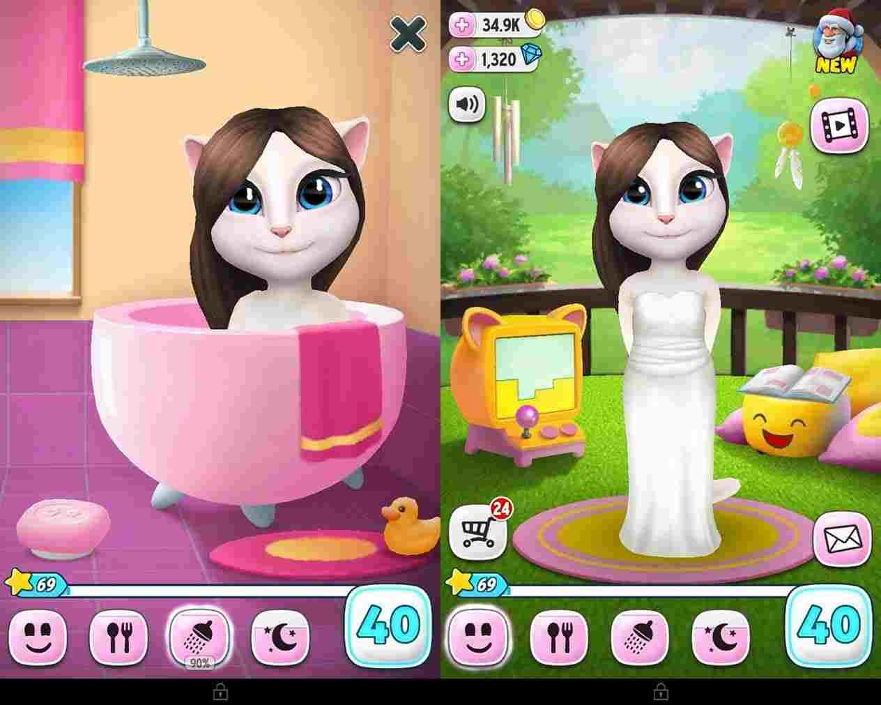 game My Talking Angela mod hack