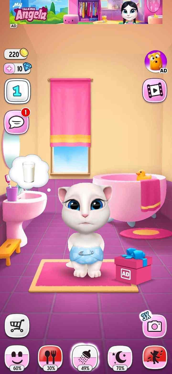 game My Talking Angela mod