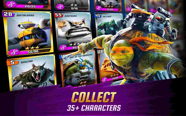 game Ninja Turtles mod hack