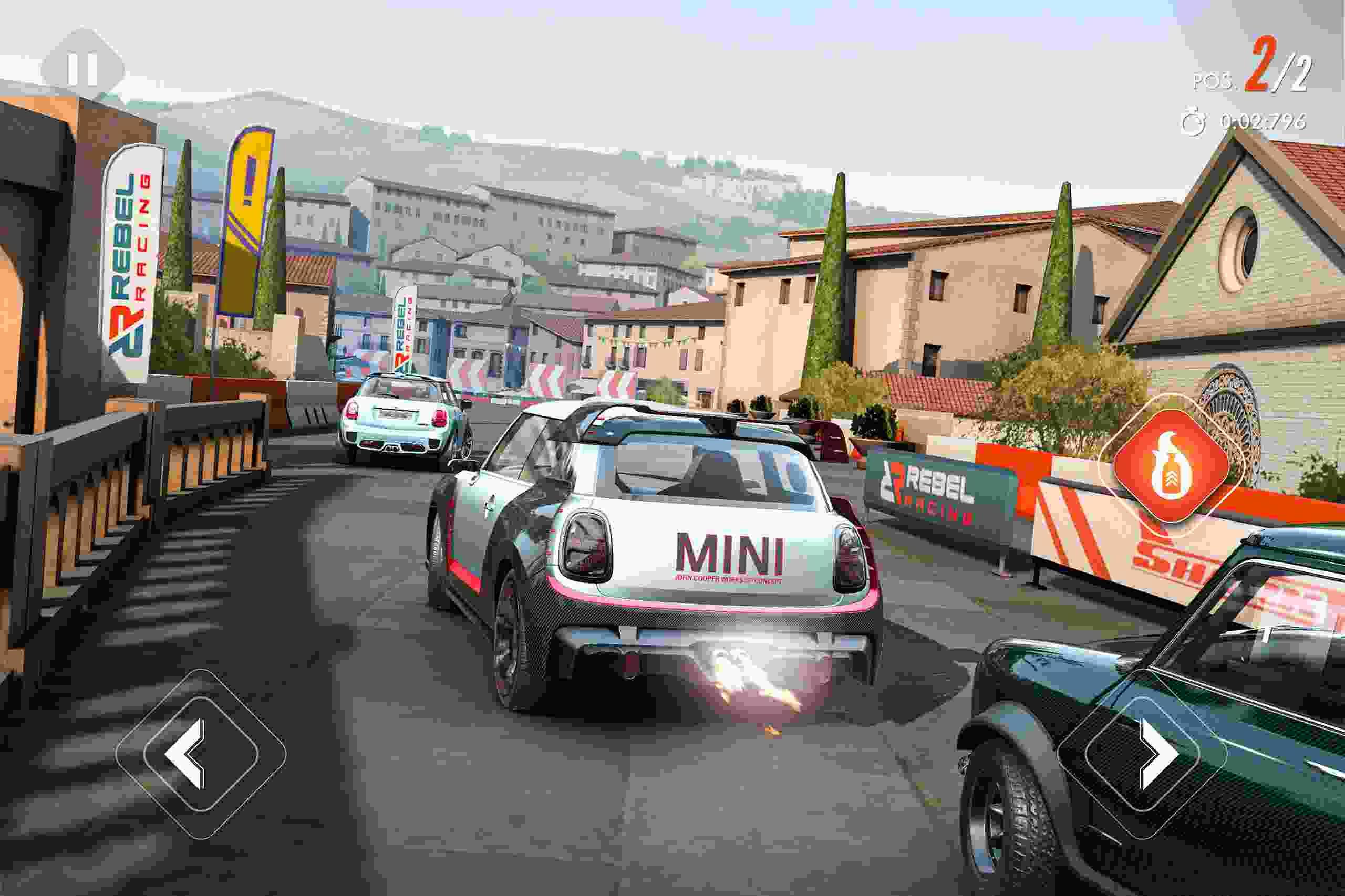 game Rebel Racing mod hack