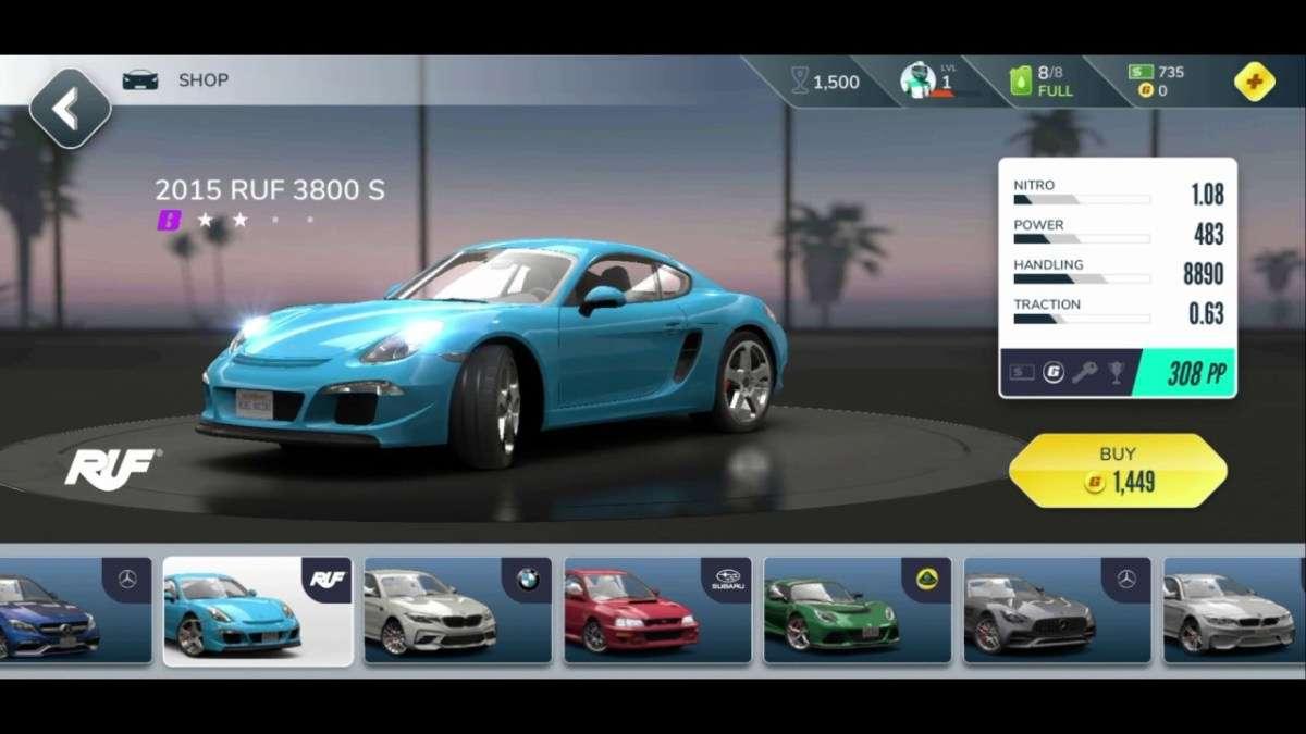game Rebel Racing mod