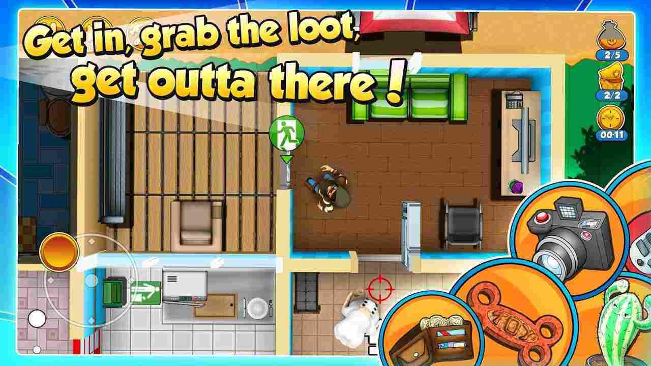 game Robbery Bob 2 mod