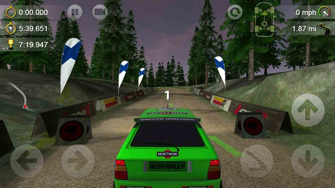 game Rush Rally 3 mod