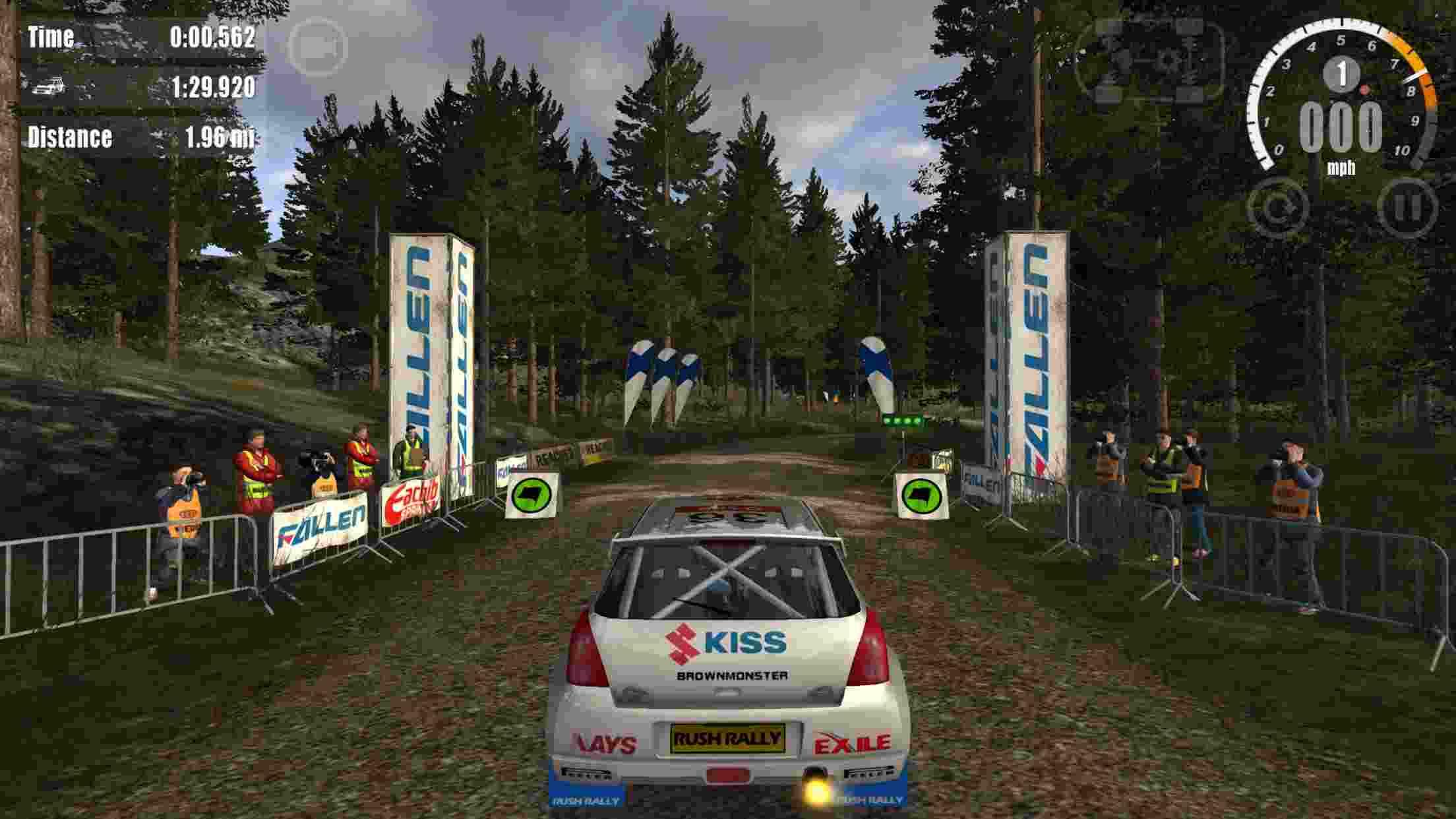 game Rush Rally 3 mod hack.