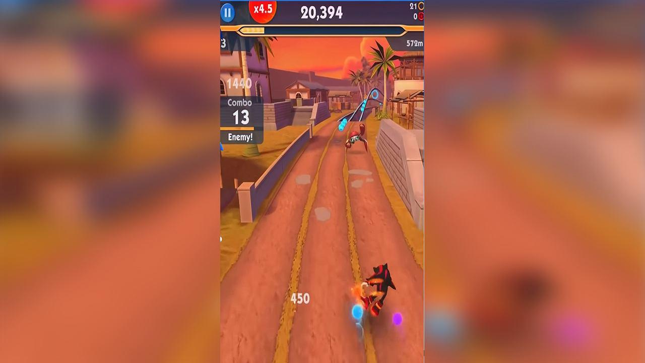 game Sonic Dash 2 mod