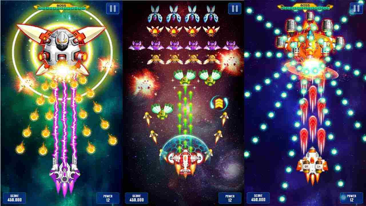 game Space Shooter mod hack