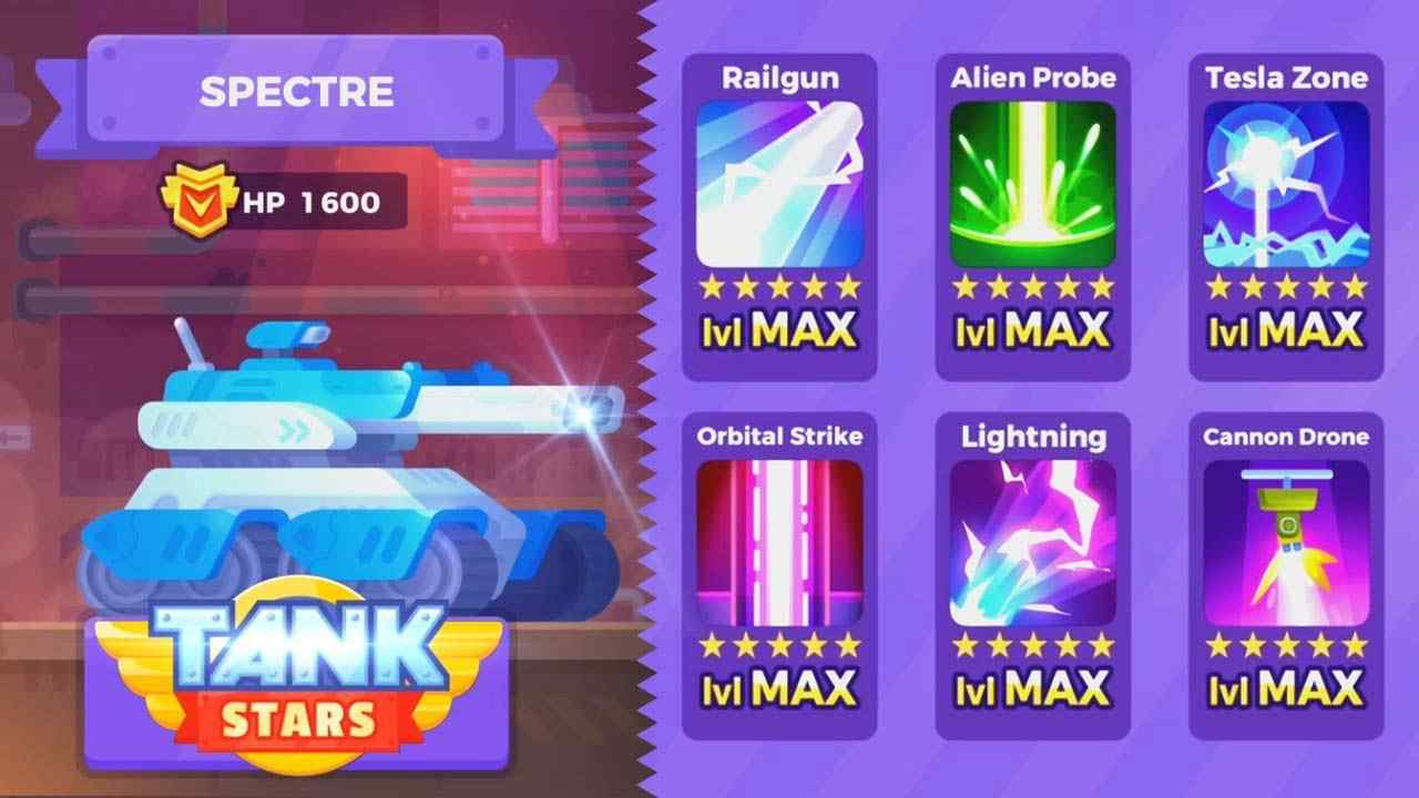 game Tank Stars Mod hack