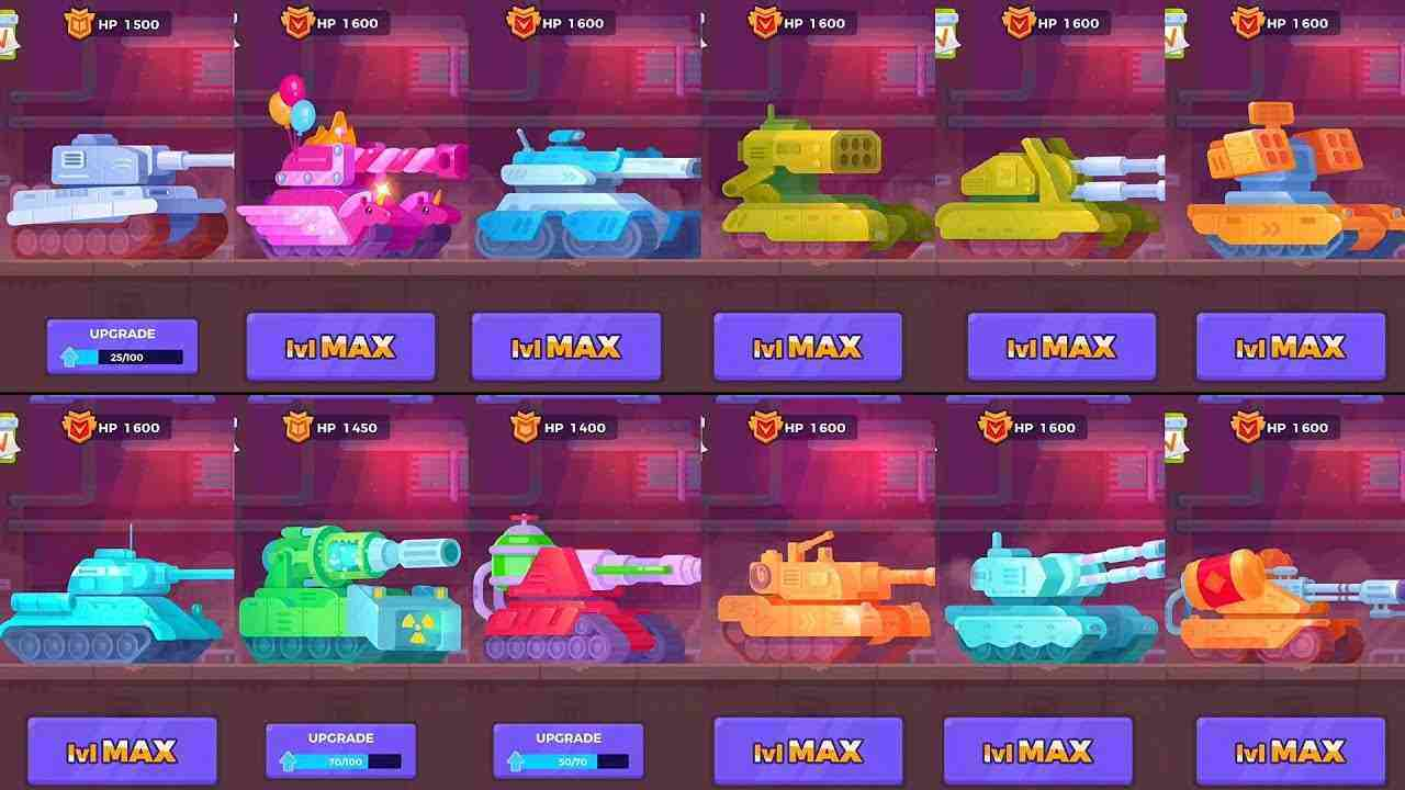 game Tank Stars Mod