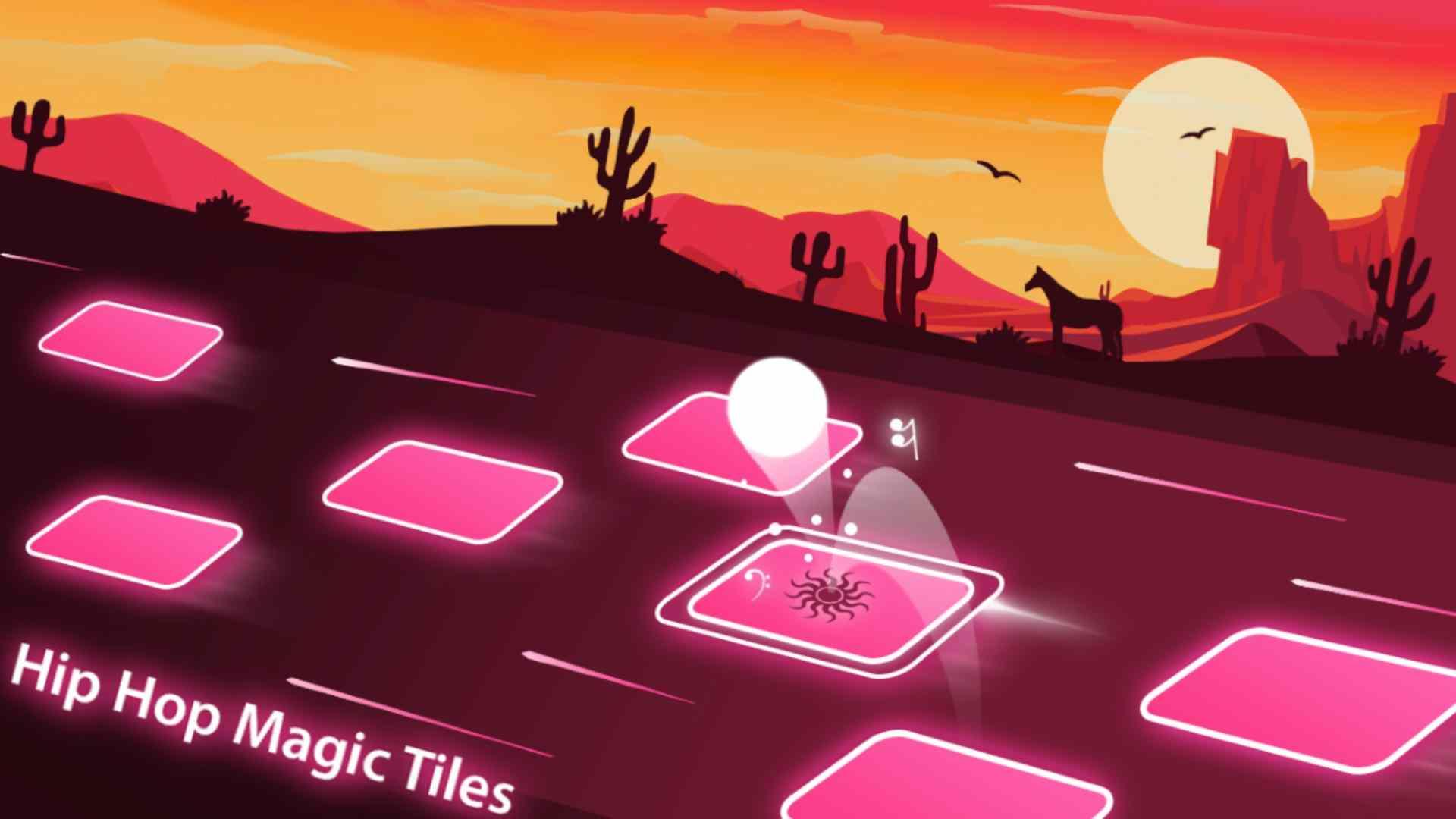 game Tiles Hop mod hack