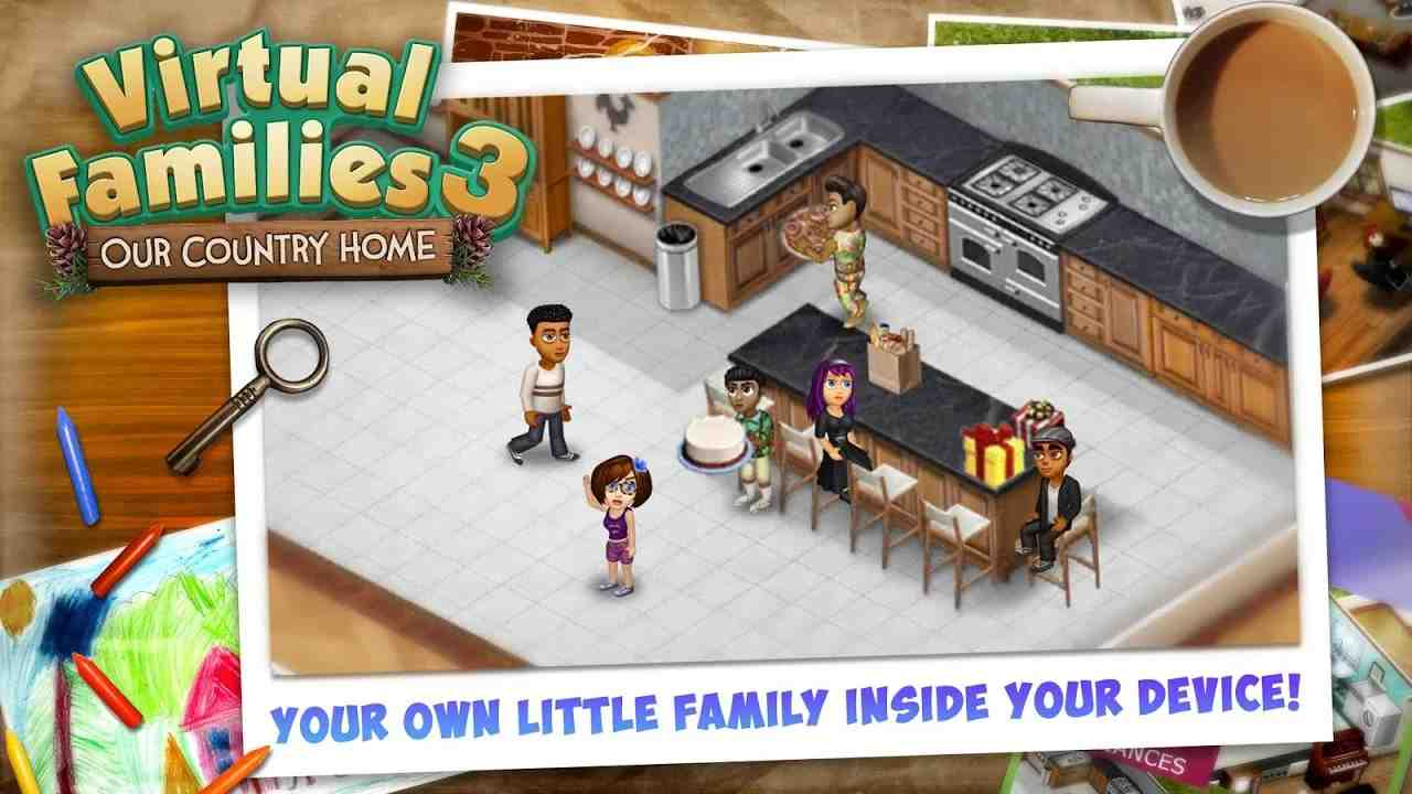 game Virtual Families 3 mod hack