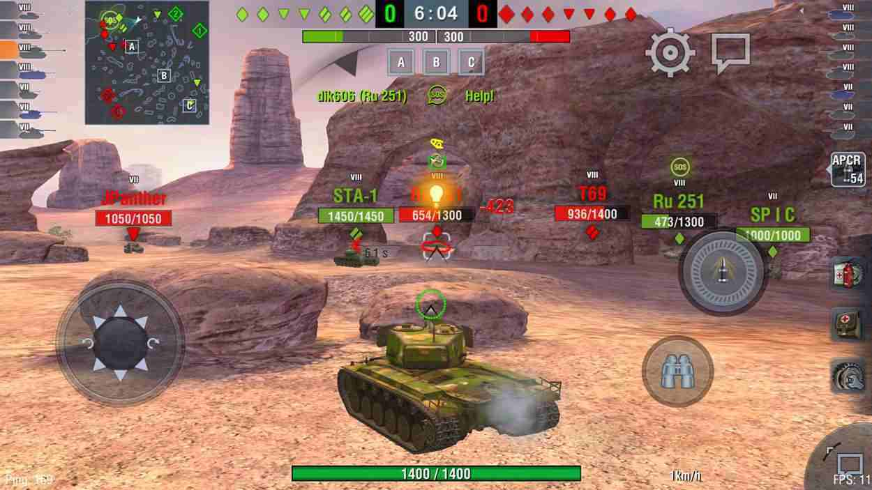 game World of Tanks Blitz mod
