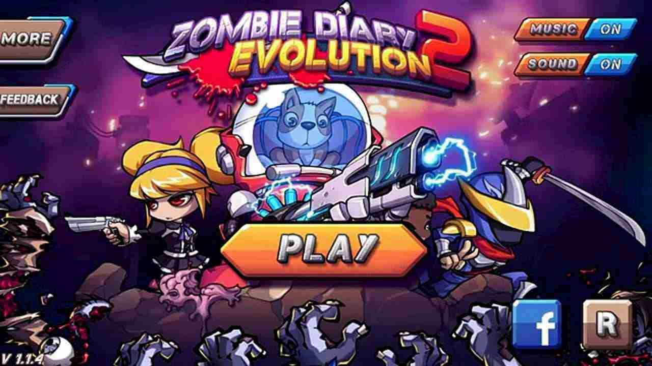 game Zombie Diary 2 Evolution mod hack