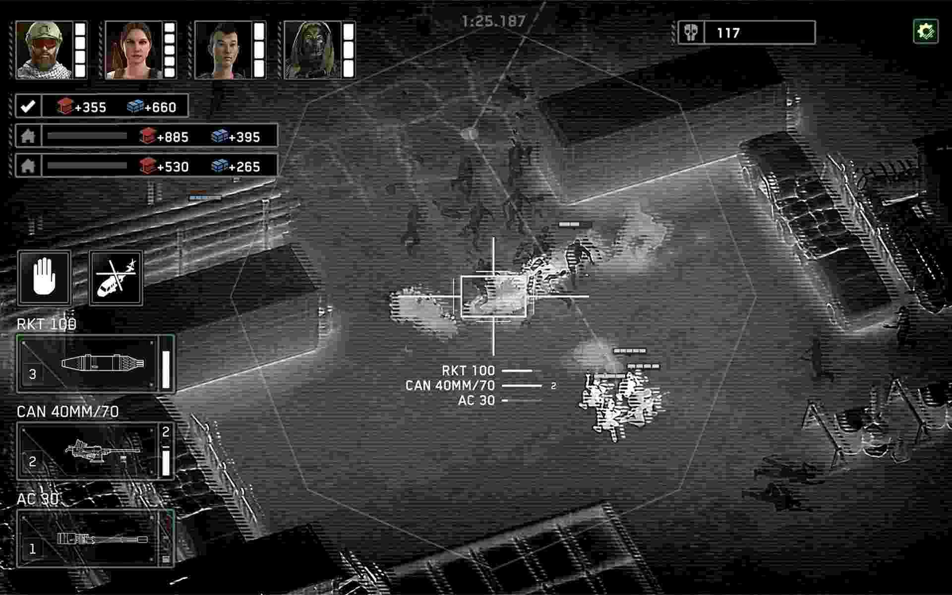game Zombie Gunship Survival mod hack