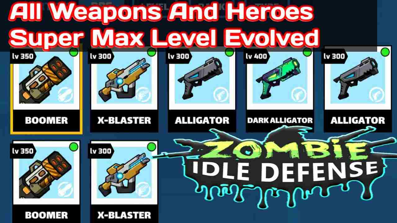game Zombie Idle Defense mod hack