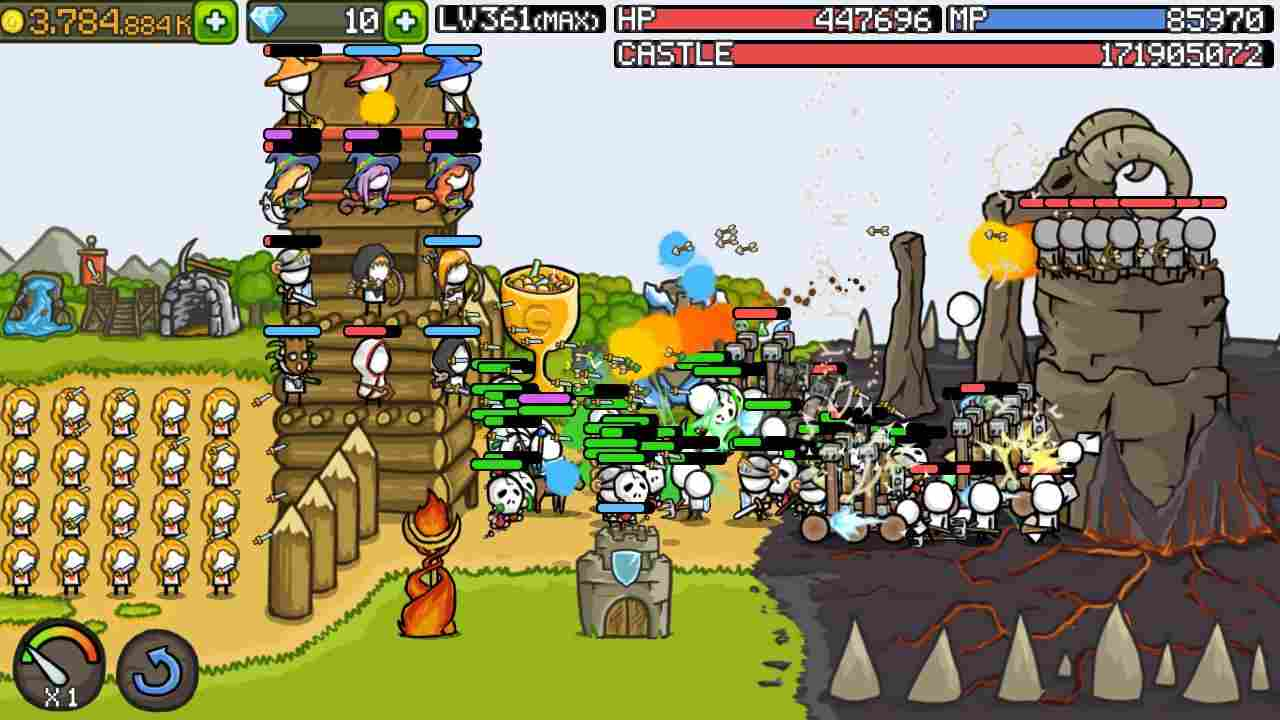 Grow Castle mod android
