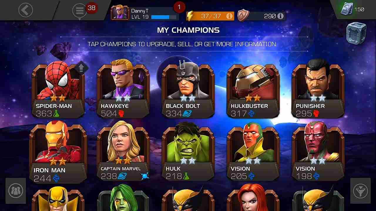 Marvel Contest of Champions mod