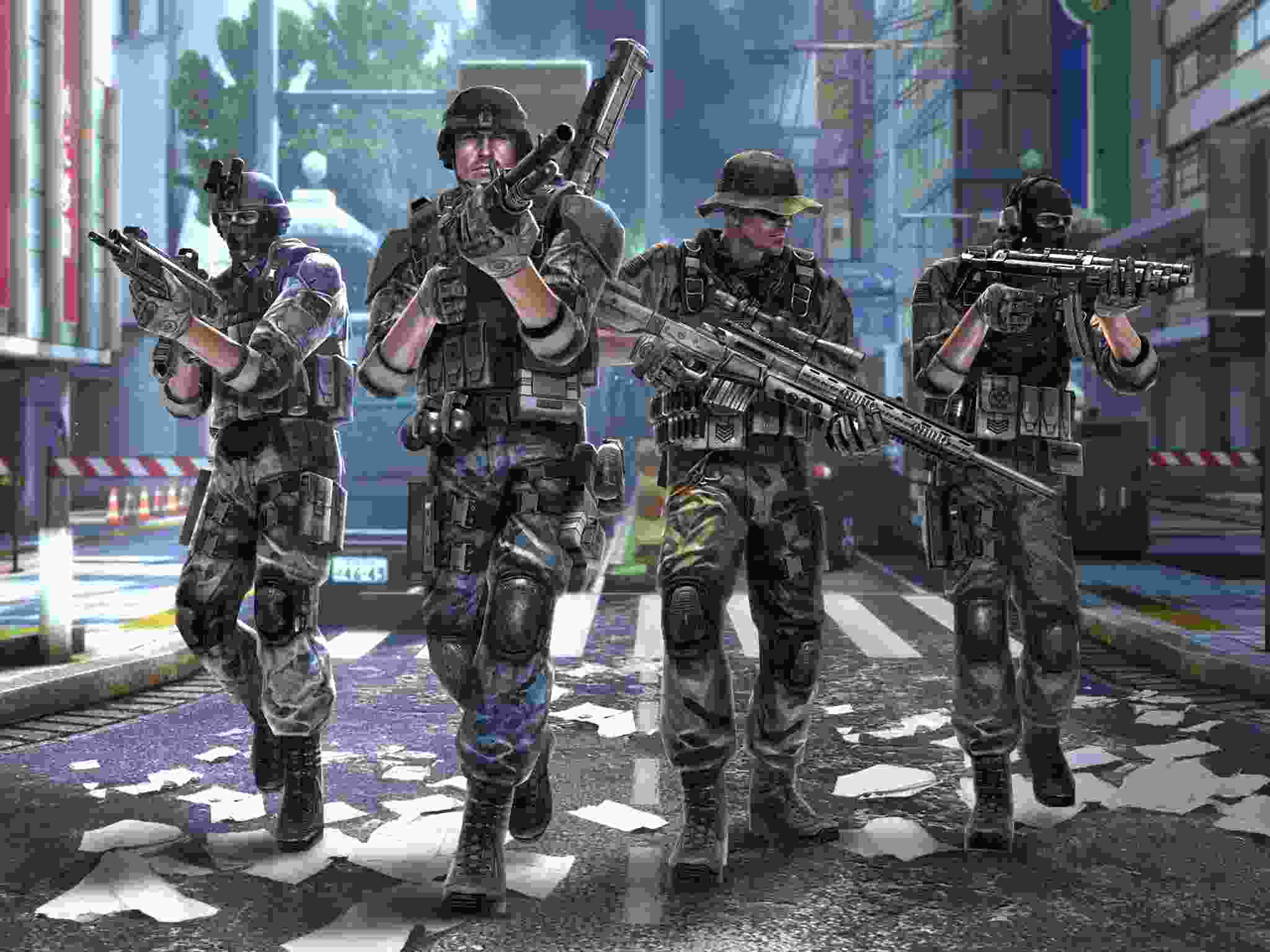 Modern Combat 5 mod android