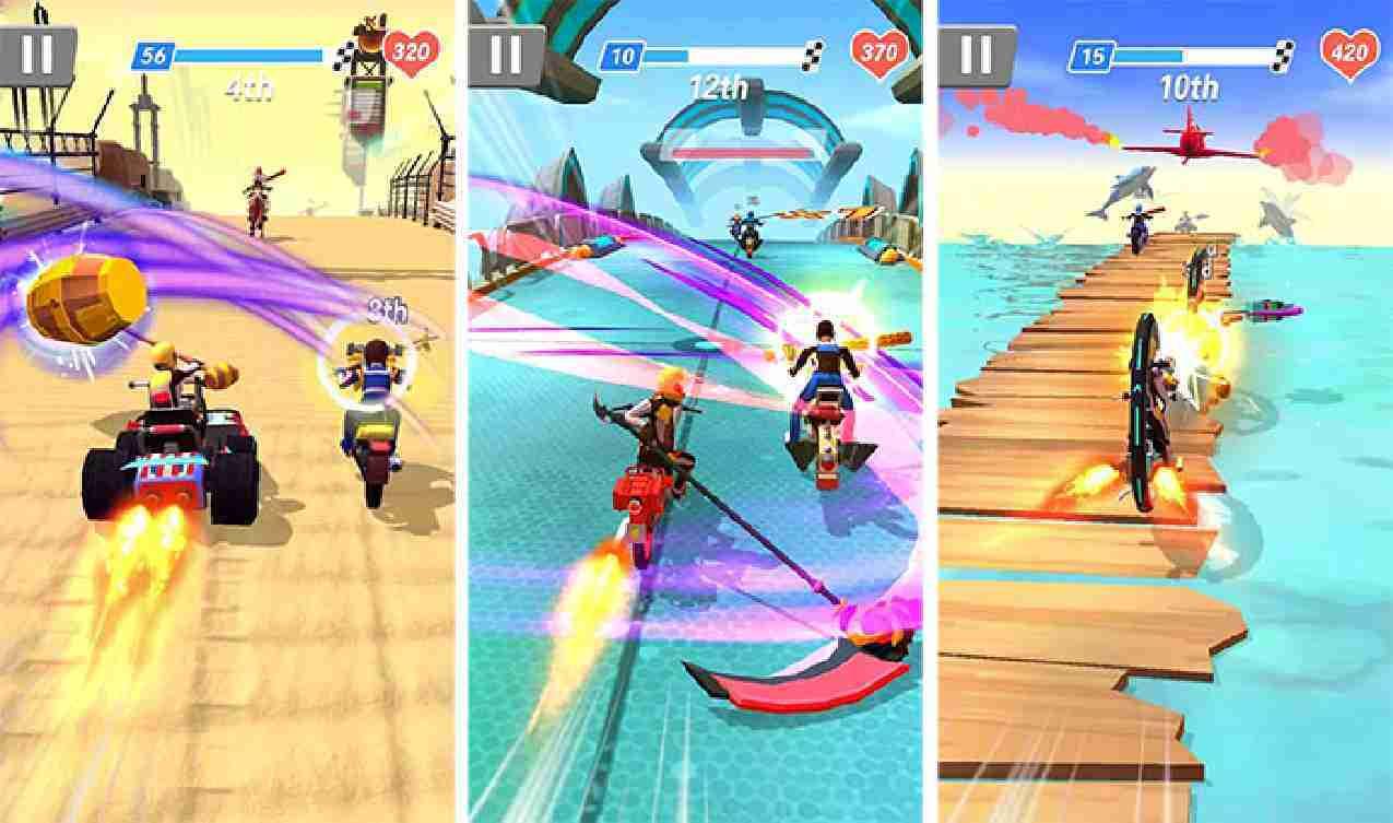 Racing Smash 3D mod