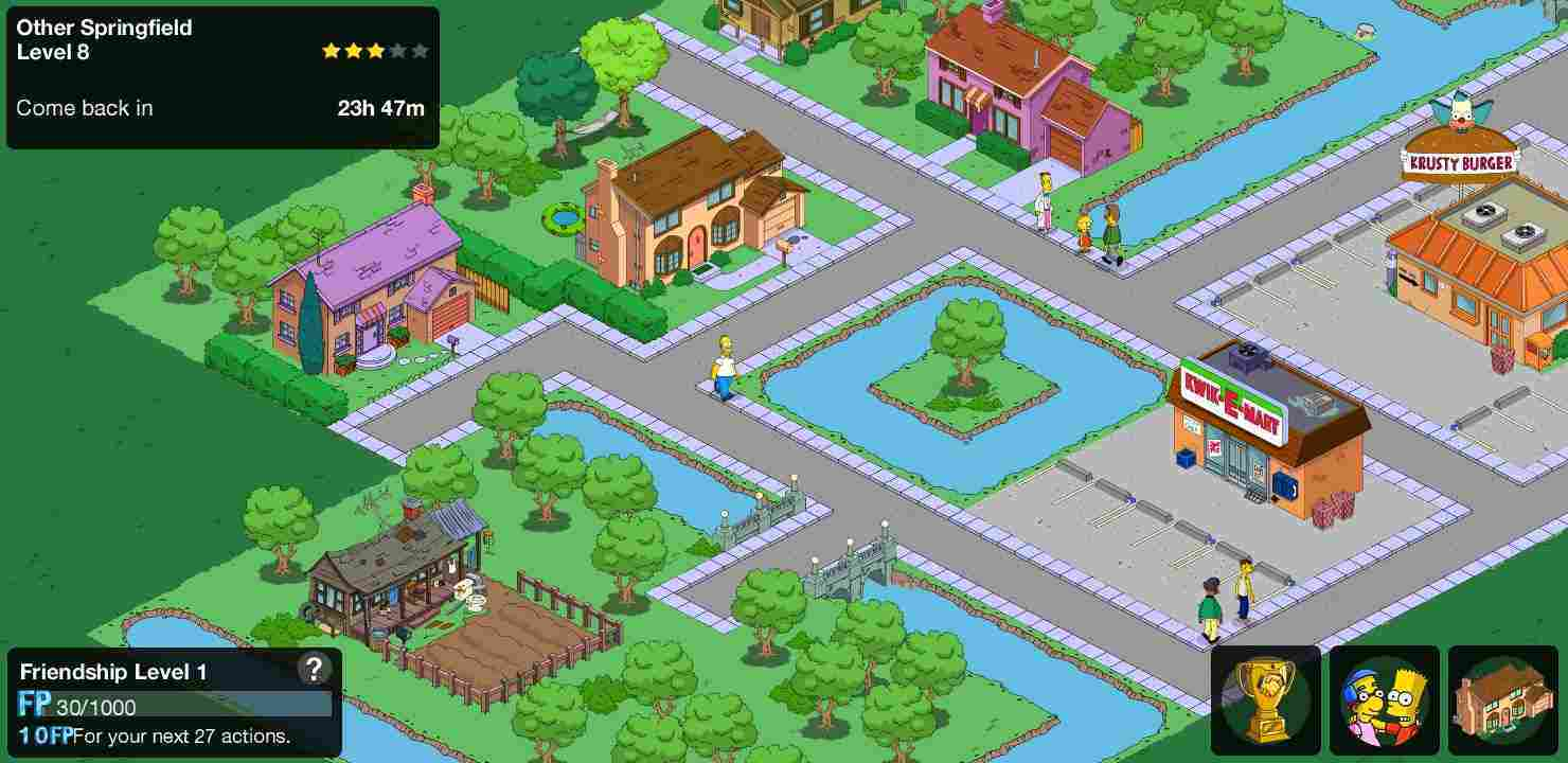 The Simpsons mod apk