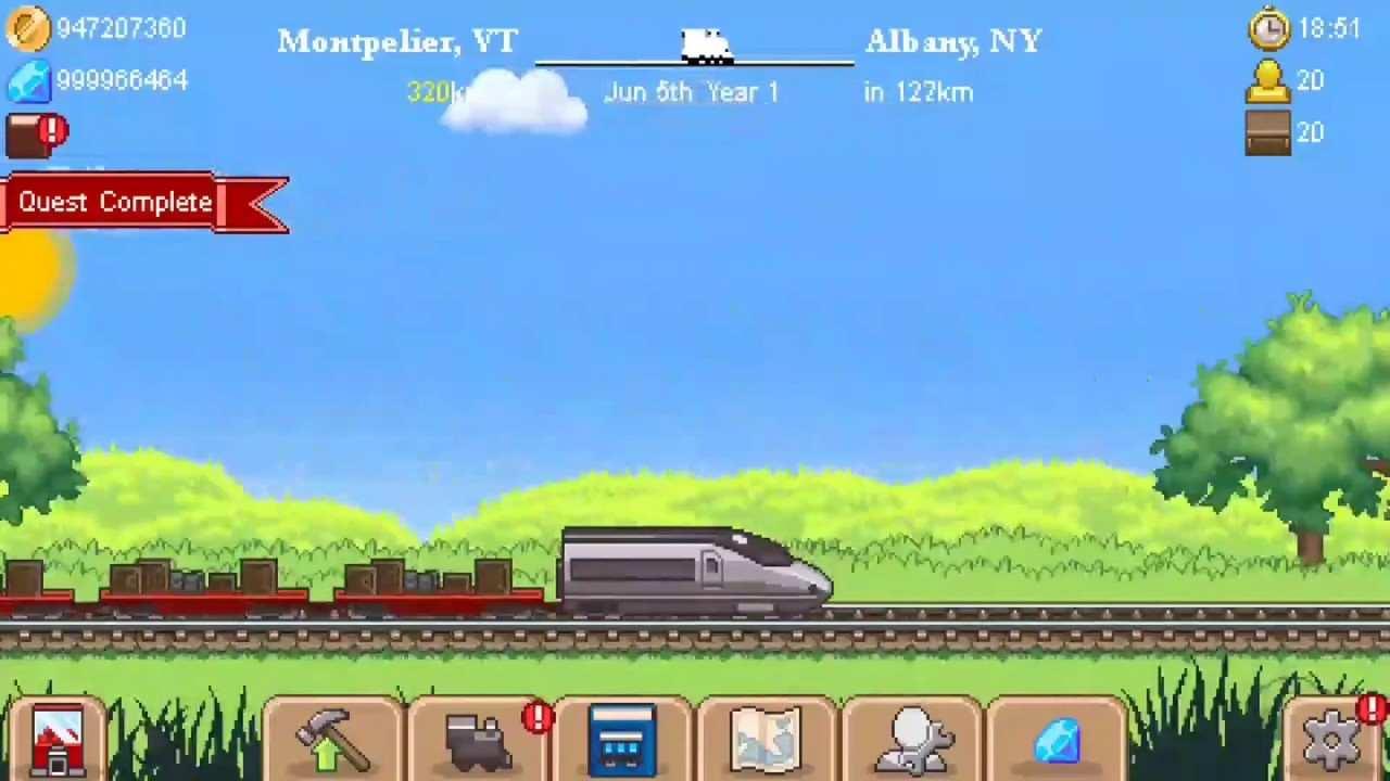 Tiny Rails mod