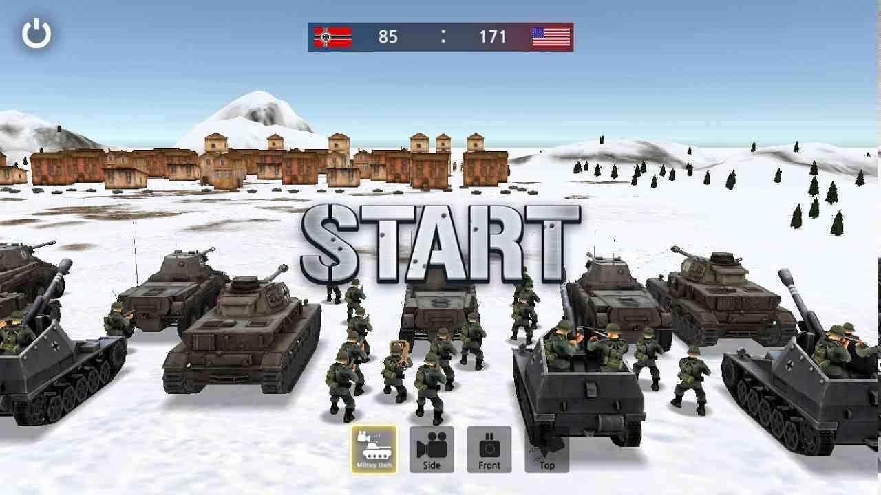 WW2 Battle Front Simulator mod apk
