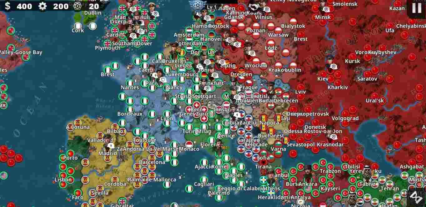 World Conqueror 4 mod apk