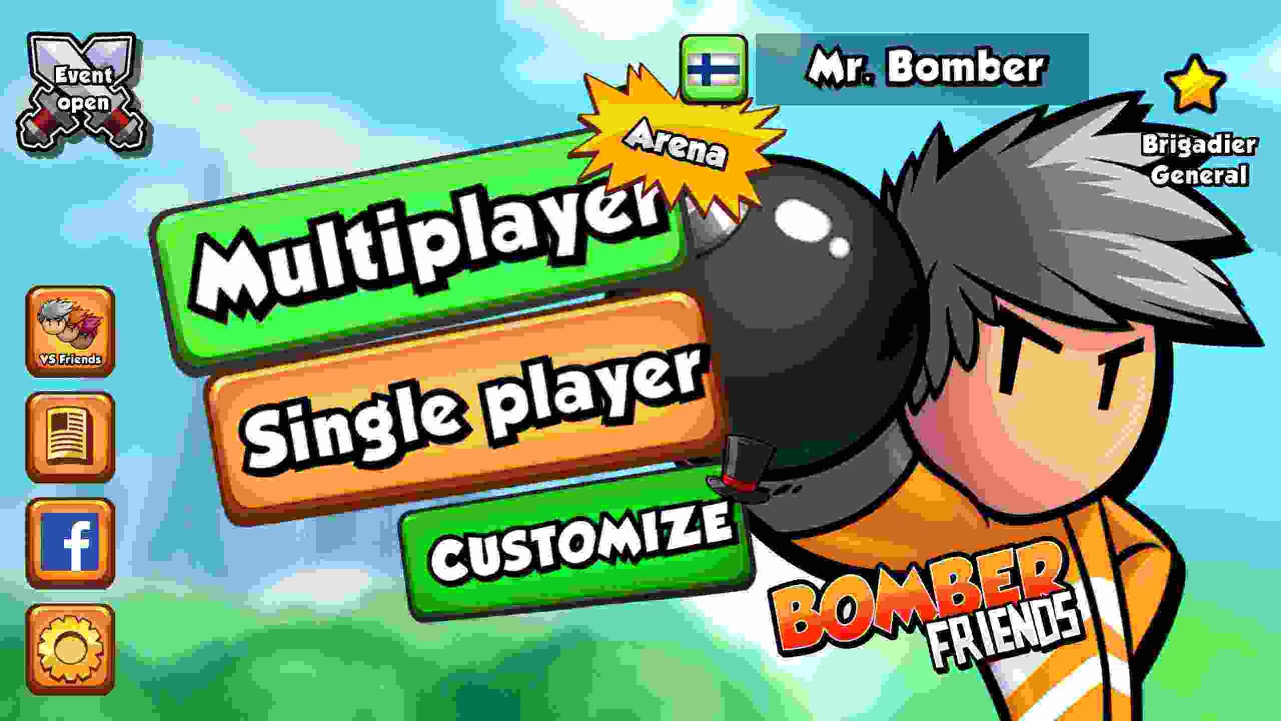 game Bomber Friends mod hack