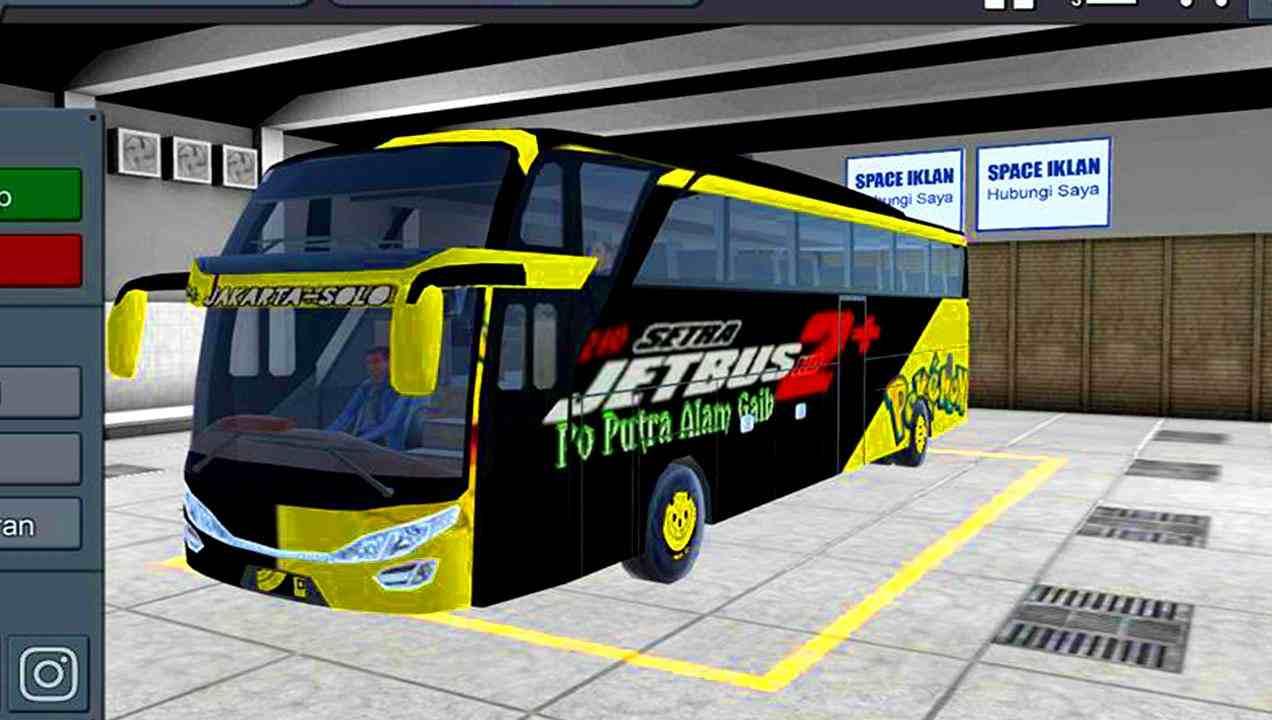 game Bus Simulator Indonesia mod