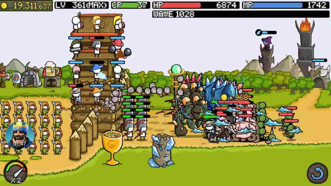 game Grow Castle mod