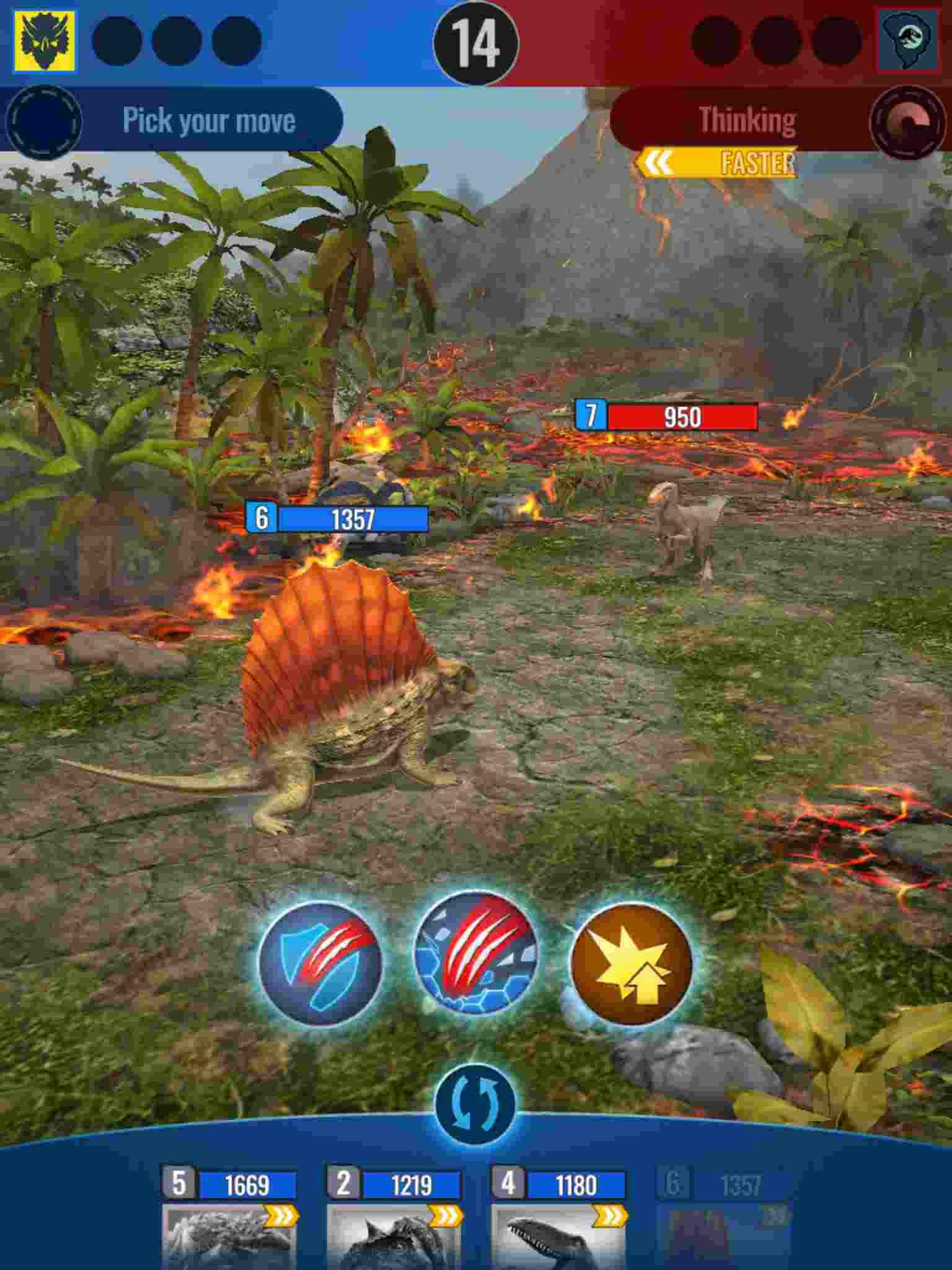 game Jurassic World Alive mod