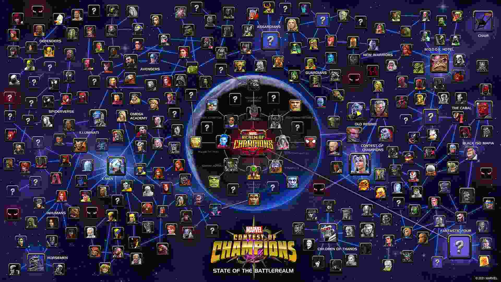 game Marvel Contest of Champions mod