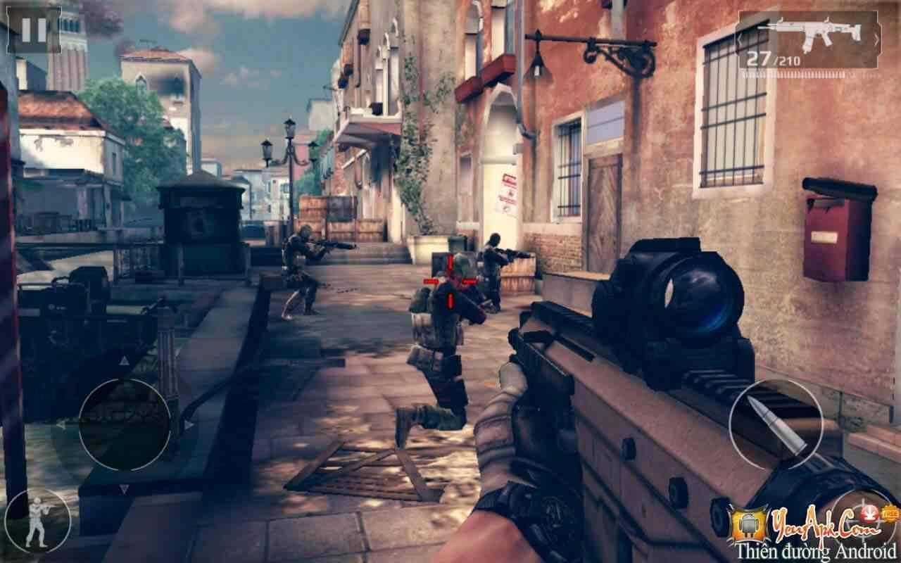 game Modern Combat 5 mod