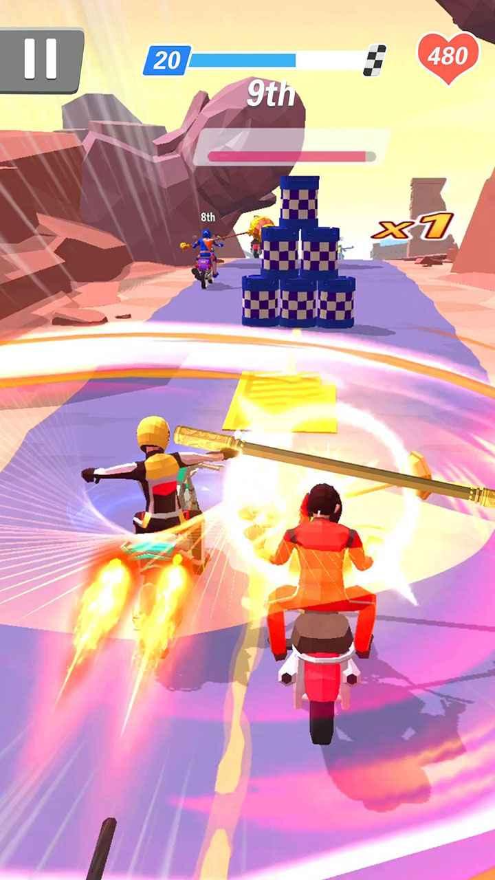 game Racing Smash 3D mod hack