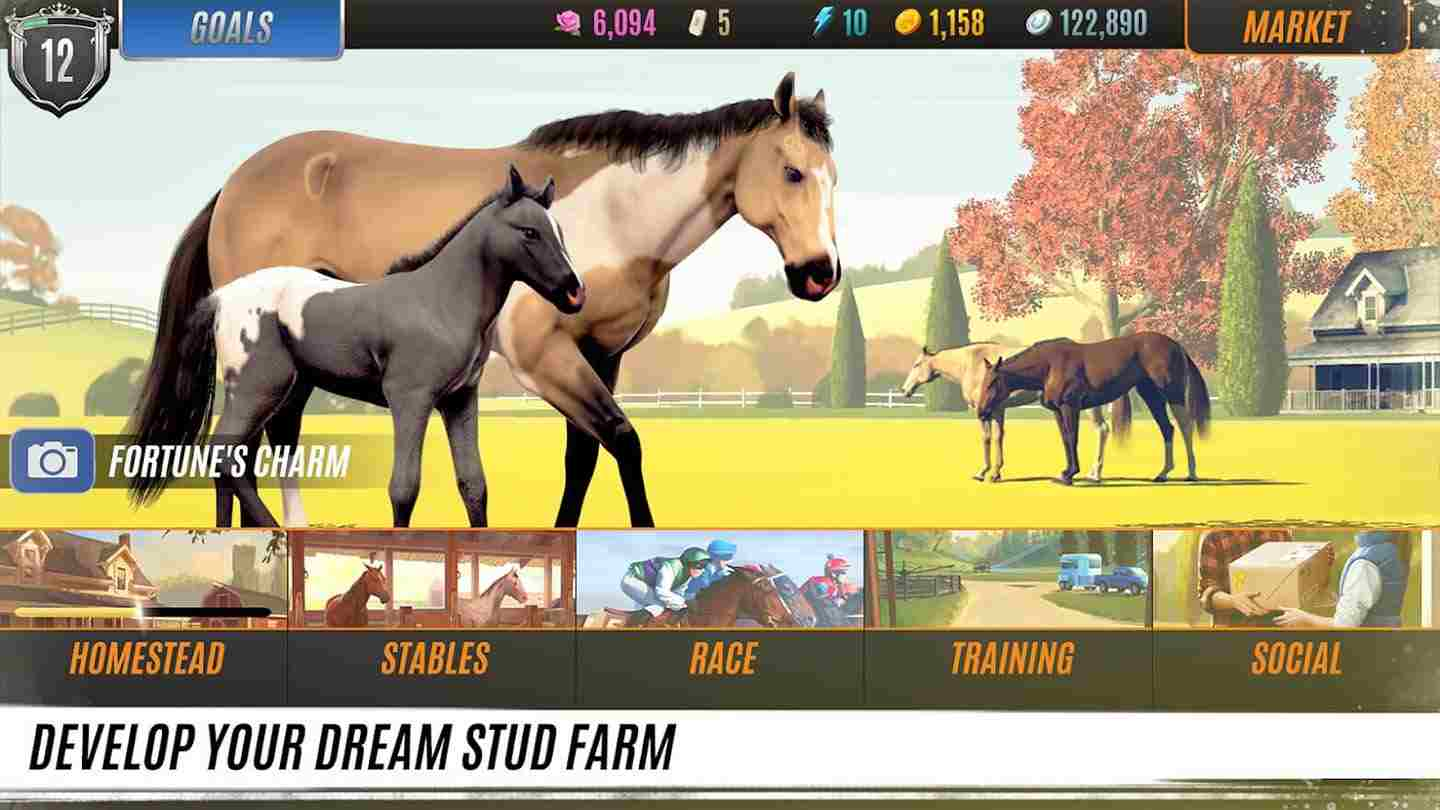 game Rival Stars Horse Racing mod
